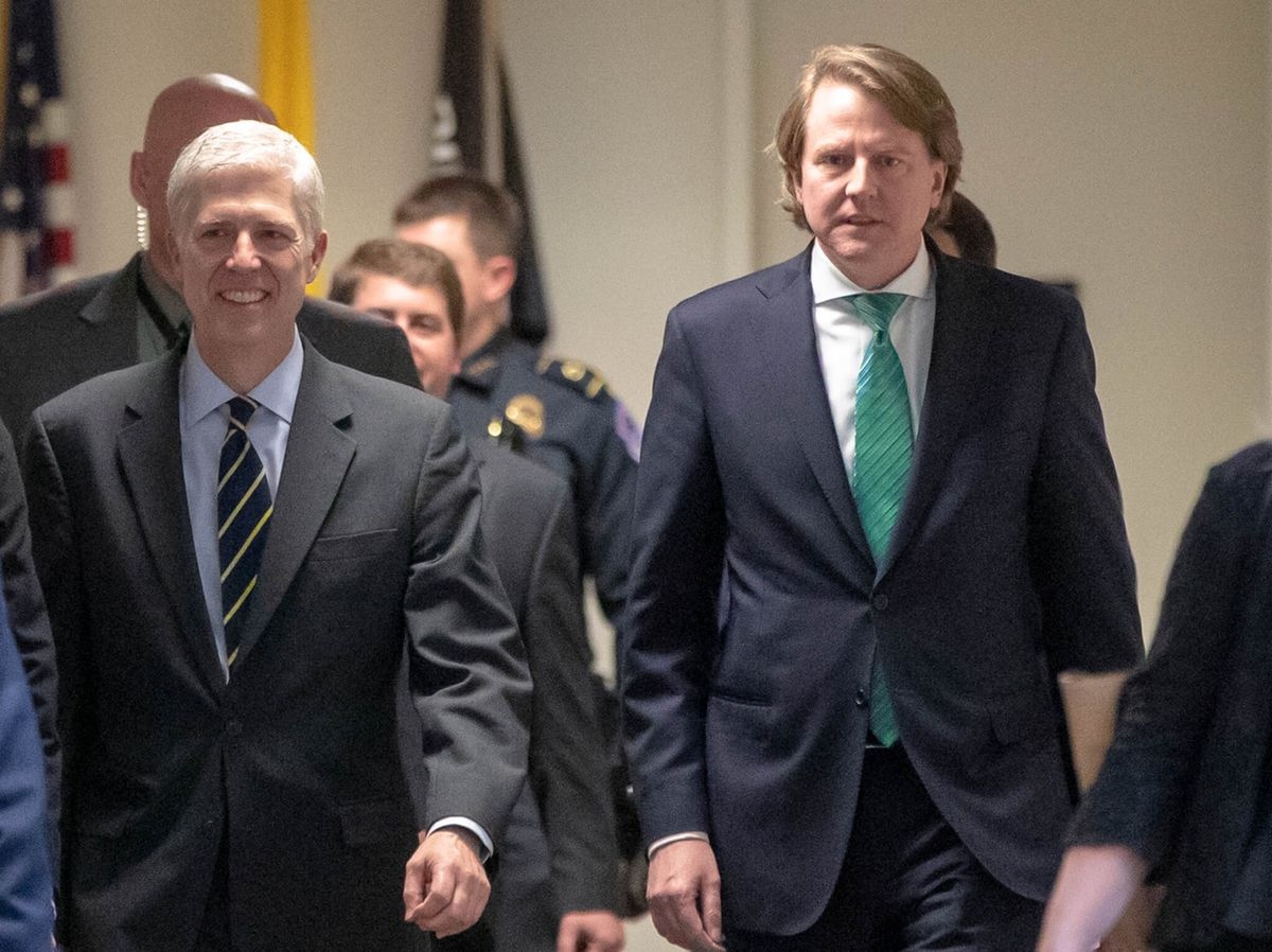 US Judge to Rule in Suit Seeking McGahn Impeachment Testimony