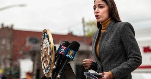 """AOC calls fellow Democrats """"cowards"""" on the eviction moratorium"""
