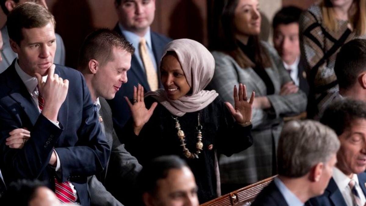 Pelosi Calls on Trump to Take Down his Tweet of Omar Video