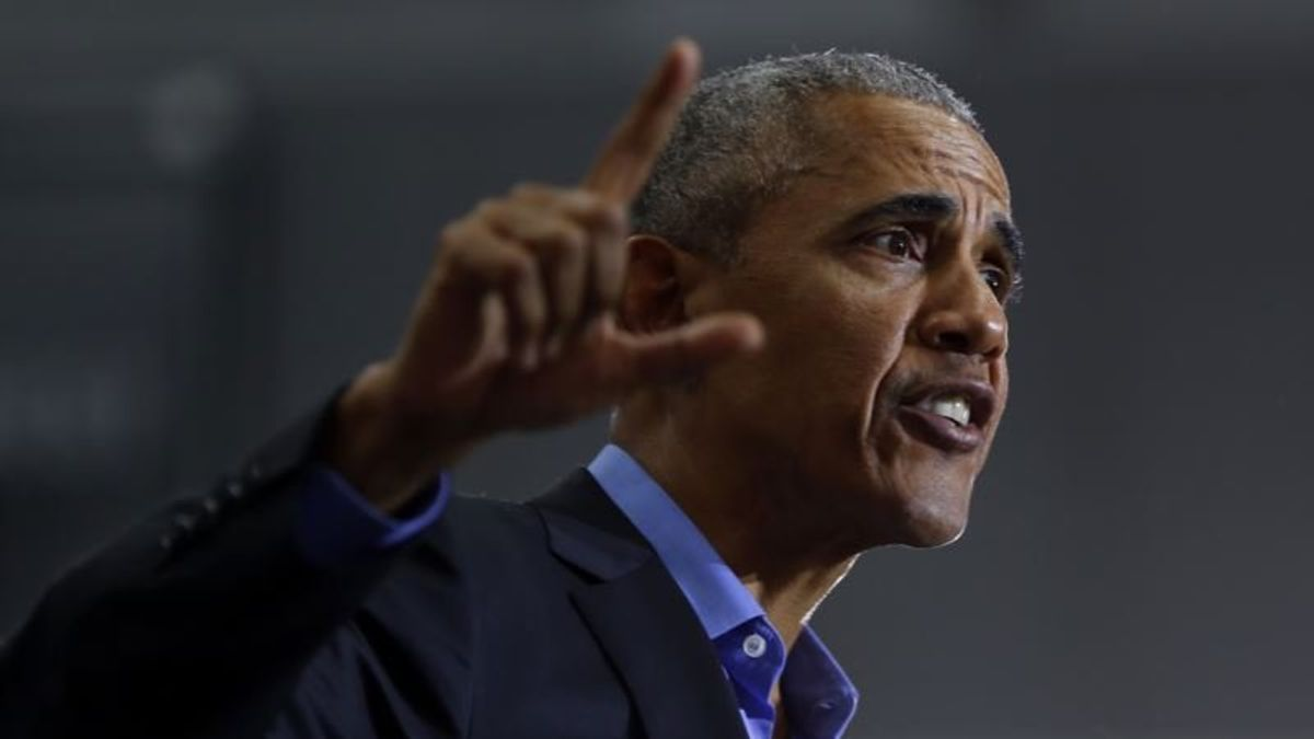 Obama Blasts Republicans as He Campaigns in US Midwest