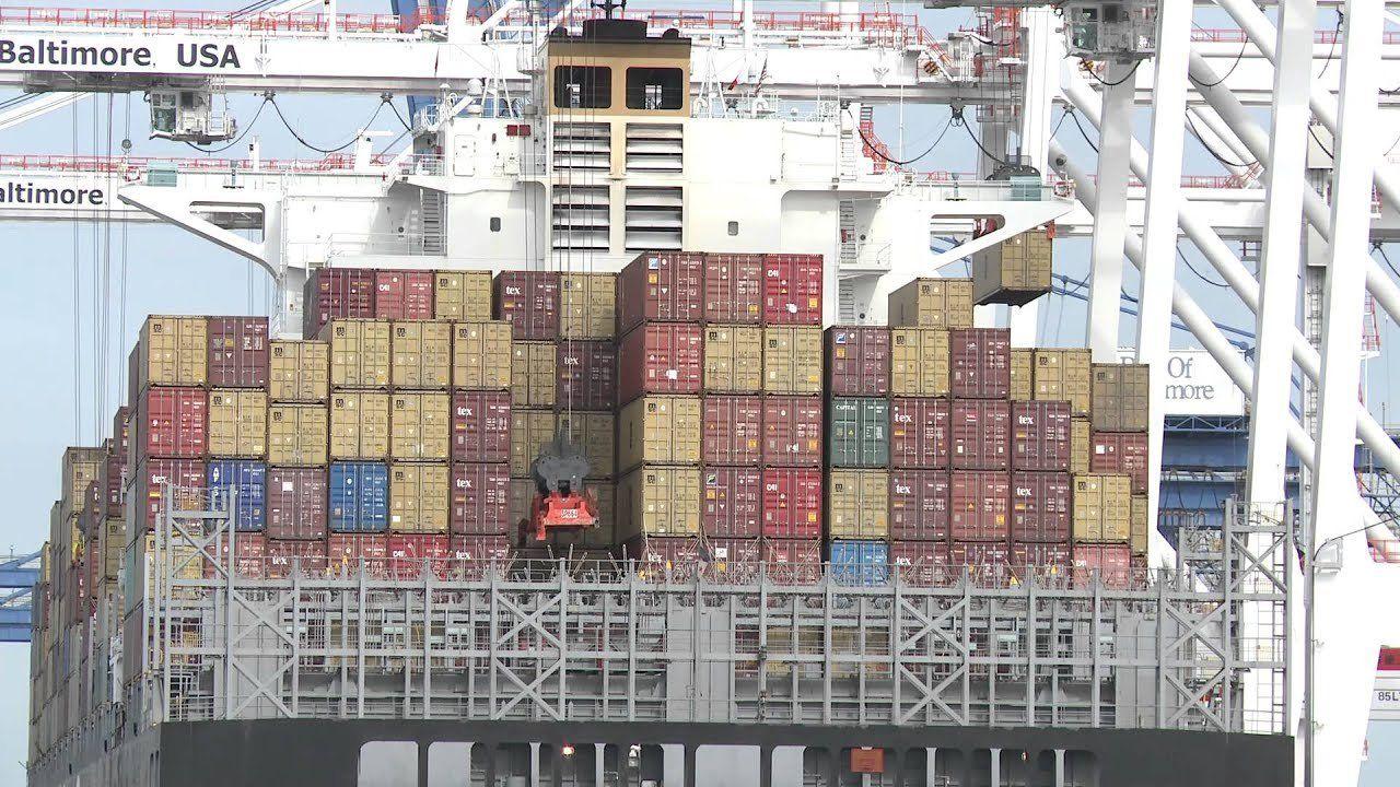VP Joe Biden announces $10m grant for Port of Baltimore