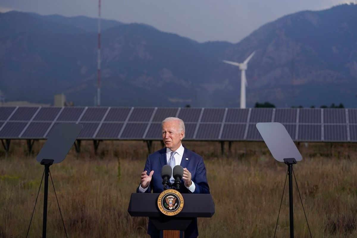 Biden Pitches Spending Plan as Key to Fight Climate Change