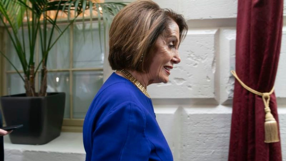 House Speaker Pelosi: Trump Is 'Engaged in a Coverup'
