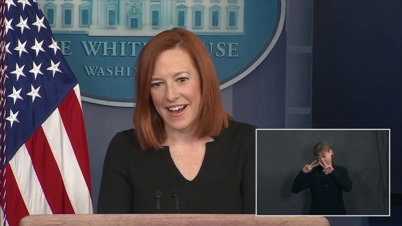 02/01/21: Press Briefing with Press Secretary Jen Psaki