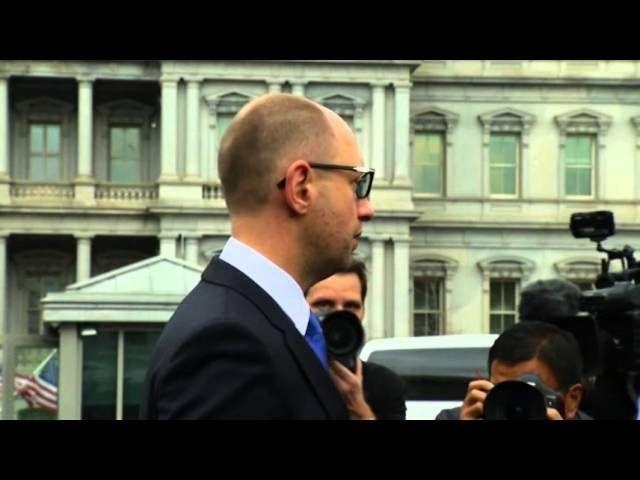 Ukraine's PM: 'Mr. Putin, tear down this wall'
