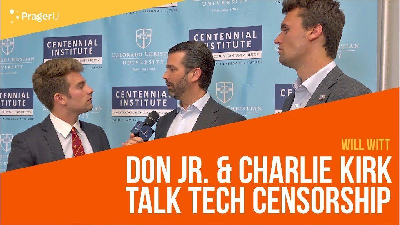 Will Witt Interviews Donald Trump, Jr. and Charlie Kirk