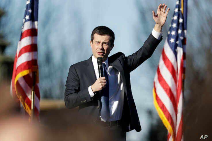 Democratic presidential candidate former South Bend Mayor Pete Buttigieg campaigns Feb. 29, 2020, in Nashville, Tenn.