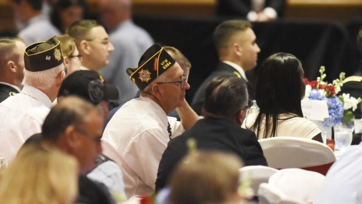 Trump Addressing Annual Veterans Convention