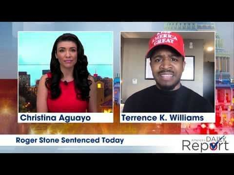 """Terrence Williams: """"Roger Stone Was Implicated In A Russian Hoax Investigation, & Shouldn't Do Time"""""""