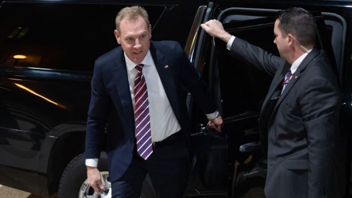Shanahan Takes Helm at Pentagon as Trump Blasts Mattis