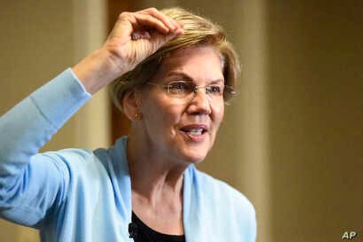 Elizabeth Warren Discloses Details of Past Legal Work, Showing $2M in Compensation