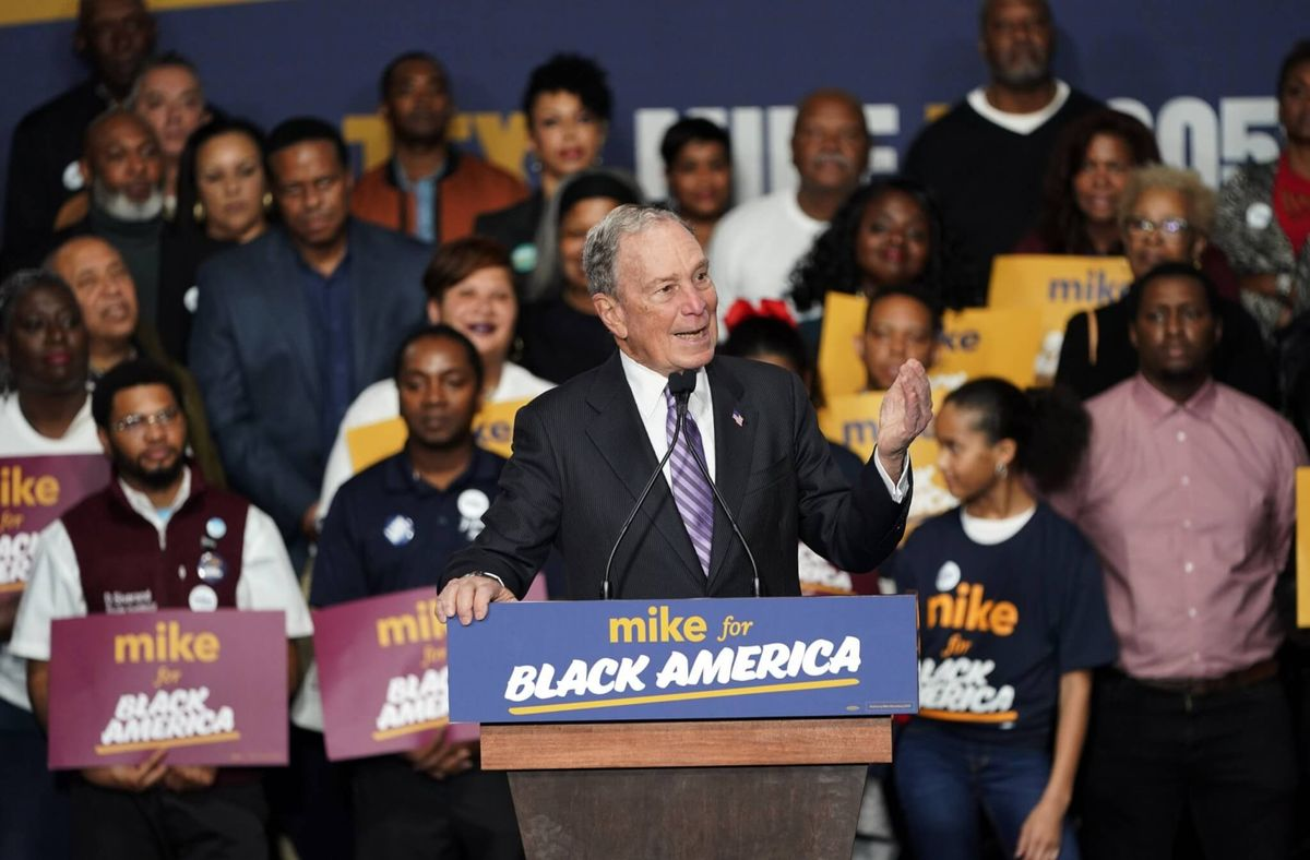 Rivals Target Bloomberg as He Rises in Democratic Presidential Race