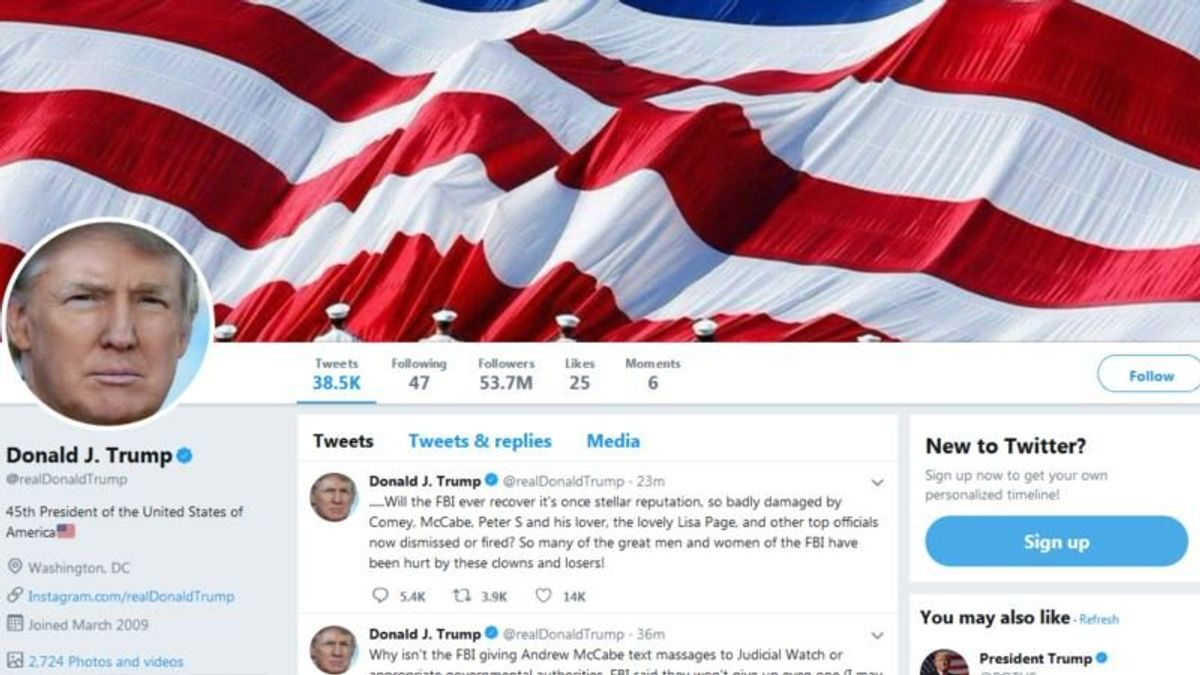 Group Calls on Trump to Unblock Twitter Users After Court Ruling