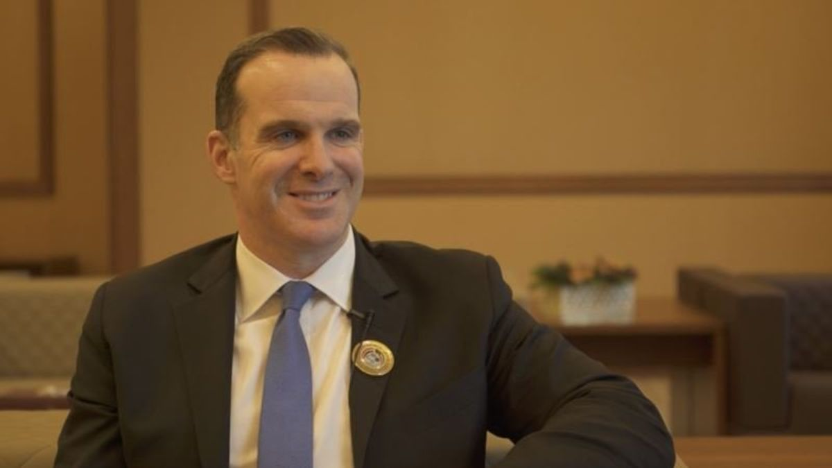 US State Department Says Special Envoy McGurk Resigns