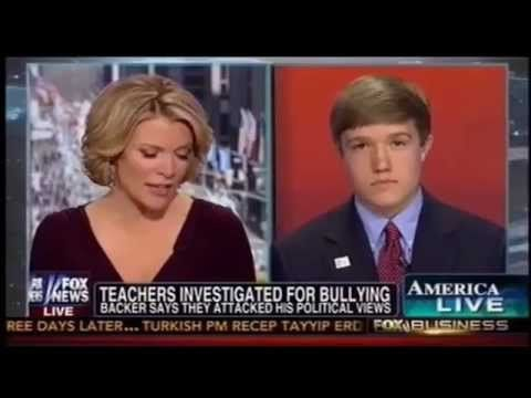 Benji Backer on America Live with Megyn Kelly: Bias in the Classroom