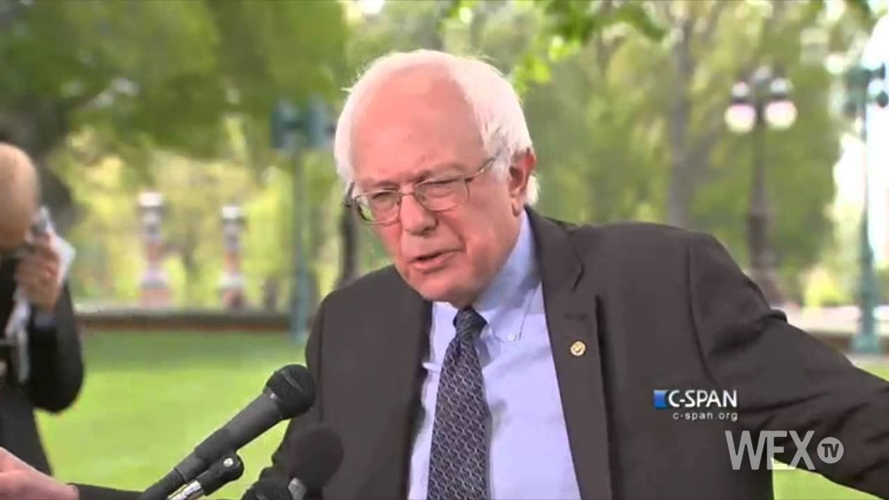 Sanders: Campaigns are about serious issues and serious debates