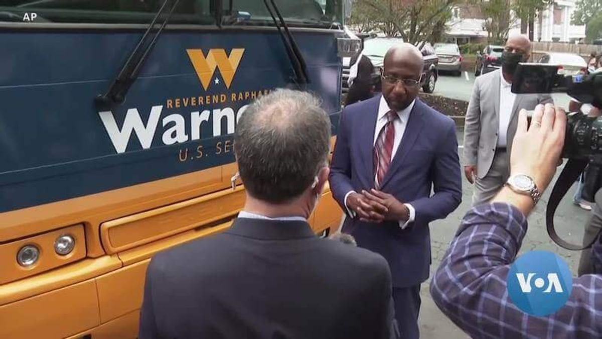 Raphael Warnock Becomes the First Black Senator in Georgia's History