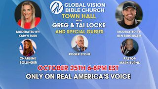 Don't miss Global Vision Bible Church's Townhall tonight!