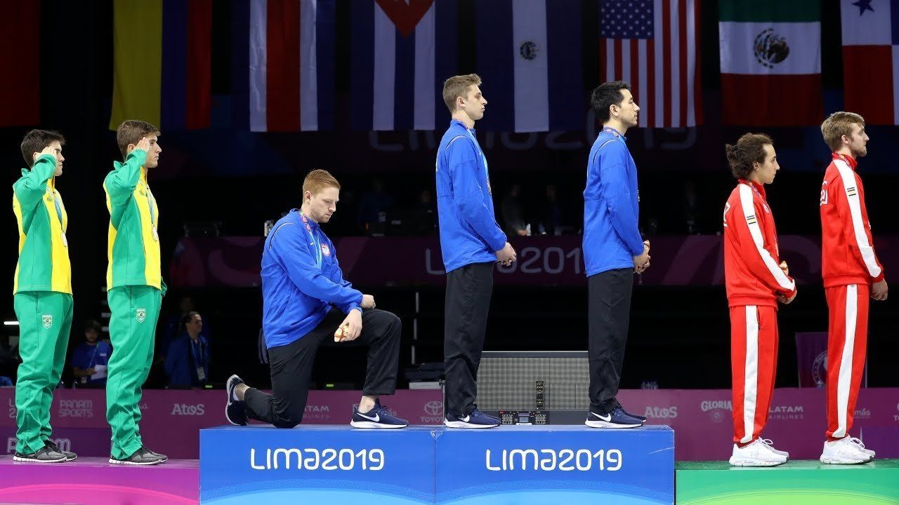2 Team USA members punished over protests