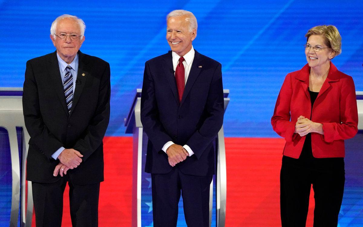 Democratic Presidential Candidates Trade Jabs, Assail Trump