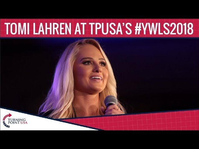 Tomi Lahren At TPUSA's Young Women's Leadership Summit 2018