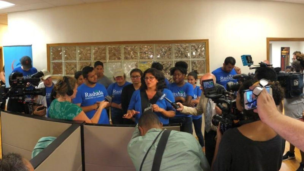Rashida Tlaib Set to Become 1st Muslim Woman in US Congress