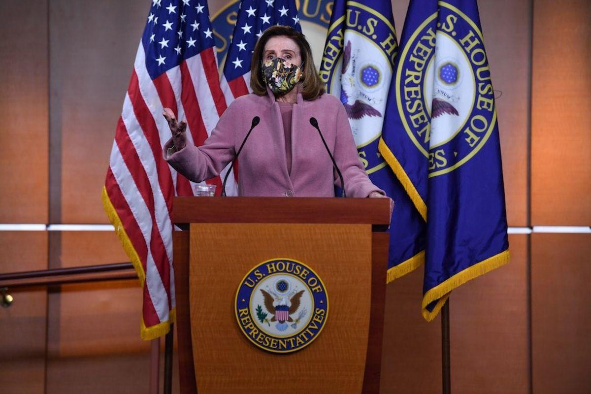 Pelosi Rules Out Having Biden Create Jan. 6 Commission