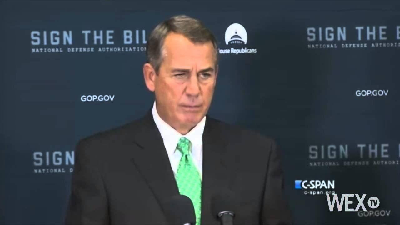 Boehner sets speaker election date