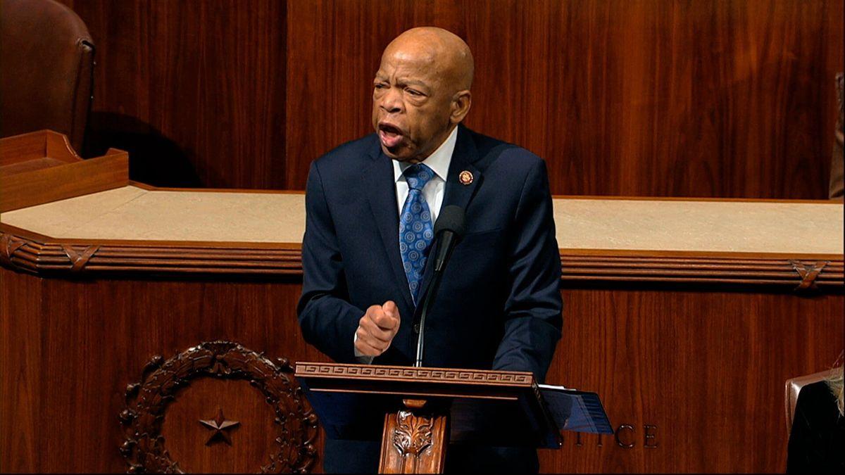 Longtime US Congressman John Lewis Says He Has Cancer