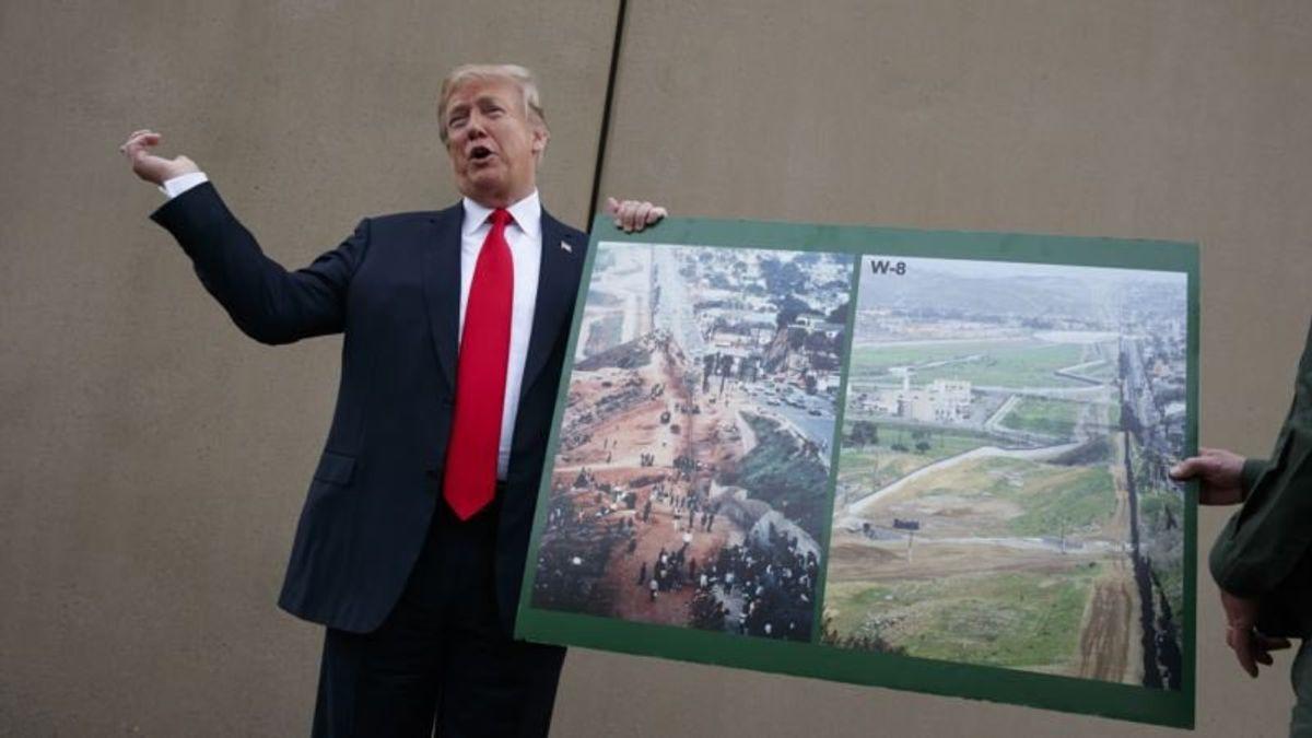 Trump, Democrats Still Far From Border Wall Deal