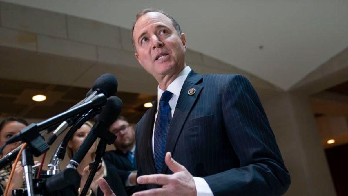 Schiff Plans 'Enforcement Action' Against DOJ Over Mueller Report