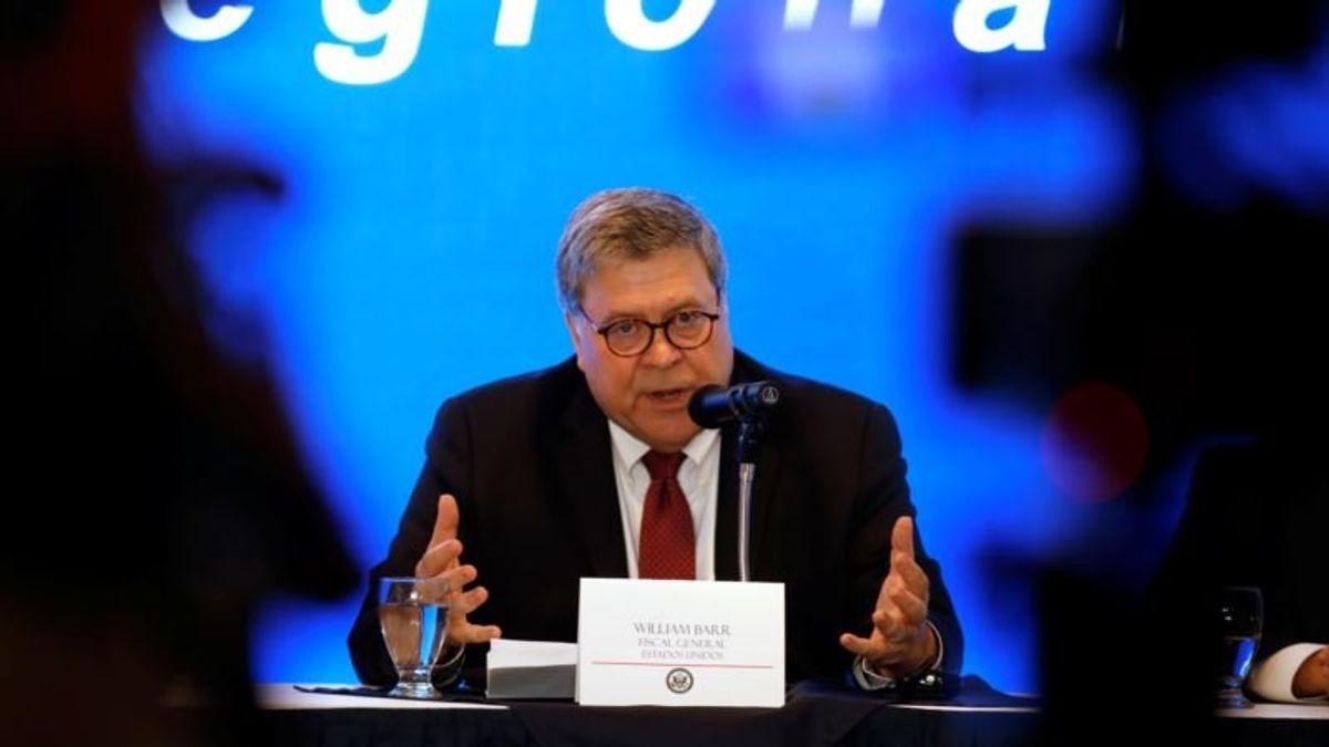 AG Barr Says Nationwide Rulings Hampering Trump's Agenda