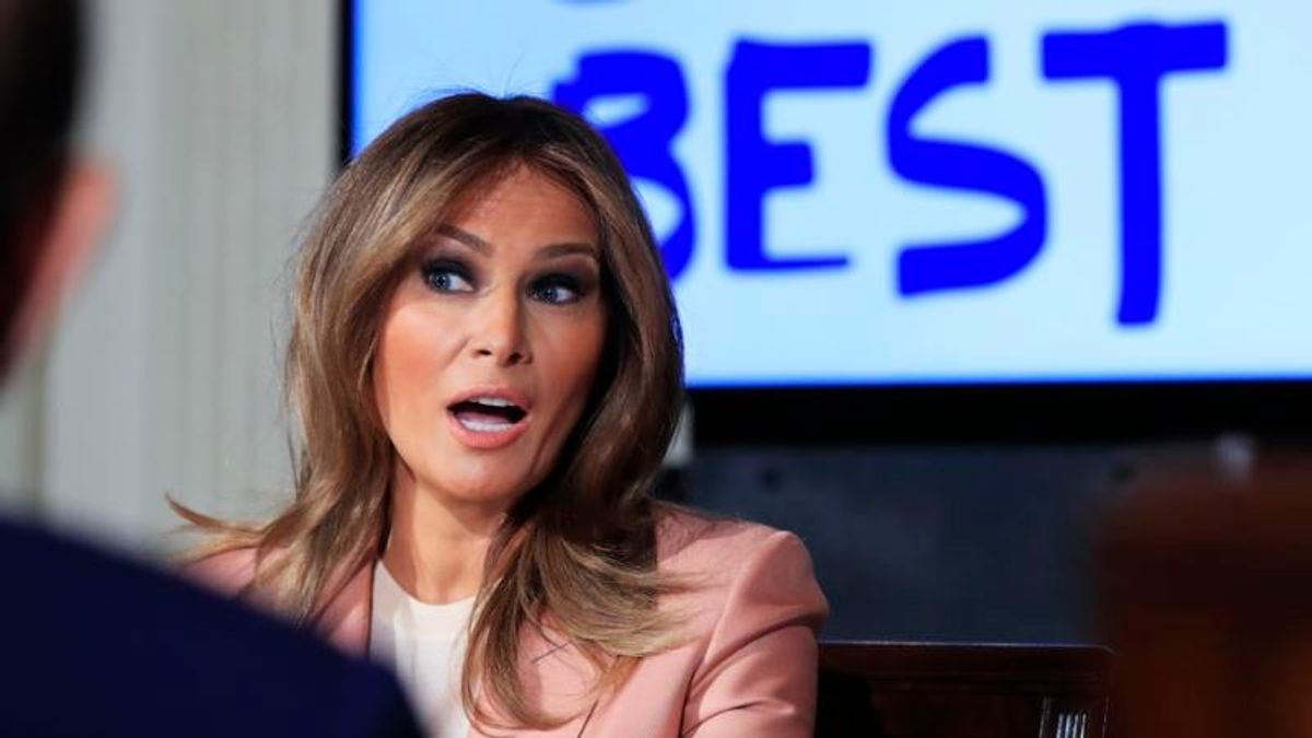 Melania Trump to Mark Anniversary of 'Be Best' Campaign