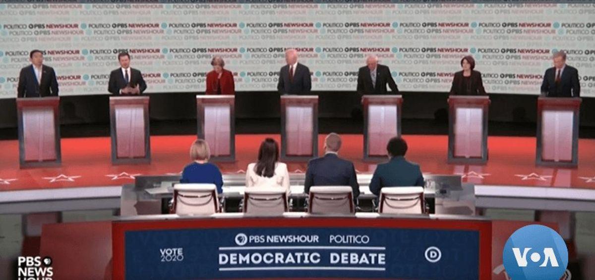 Democratic Presidential Contenders Clash in Latest Debate
