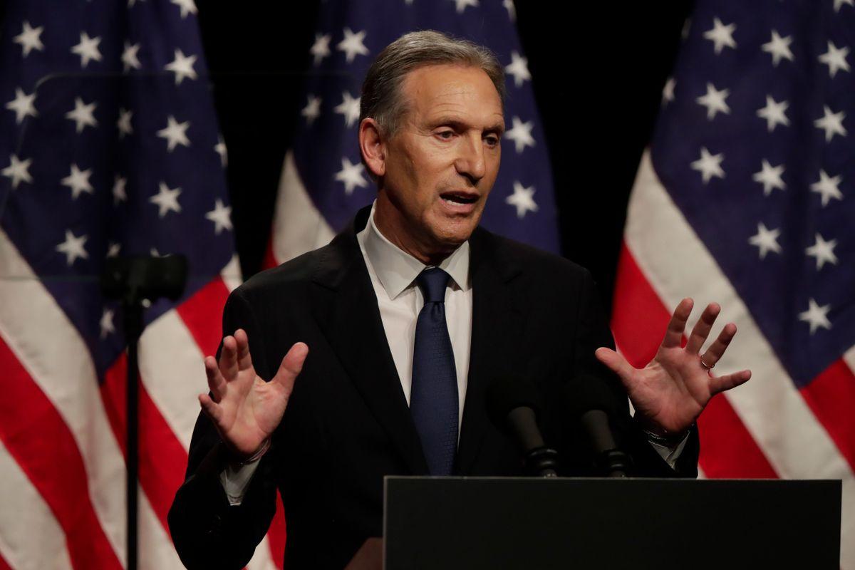 Former Starbucks CEO Takes 'Detour' from White House Run