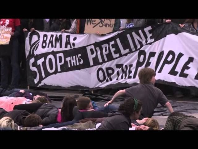 Raw: Keystone XL pipeline protesters arrested in DC