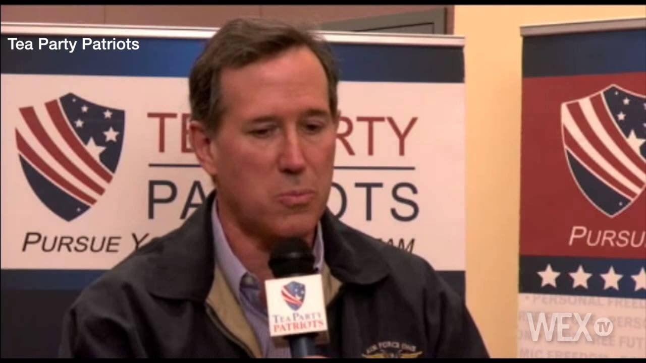 Santorum: Crowded GOP field won't deter possible 2016 run