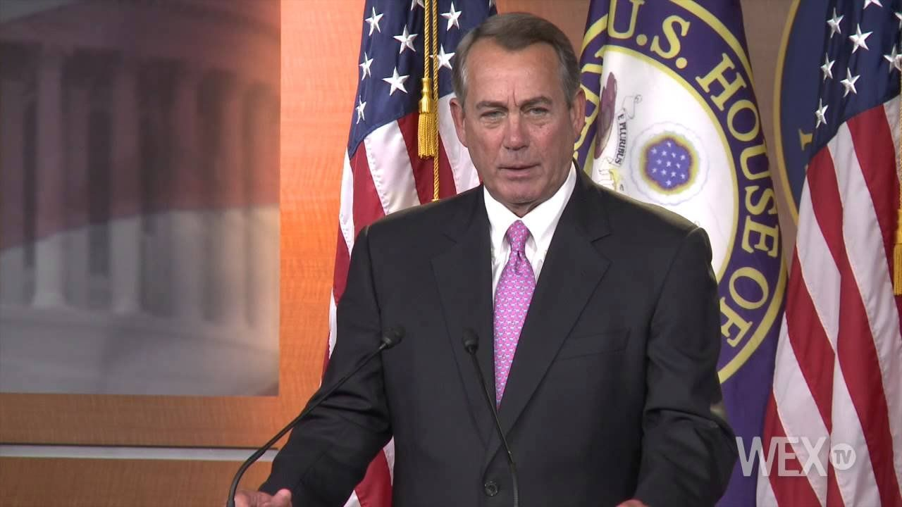 Boehner on Amtrak funding: 'That's a stupid question'