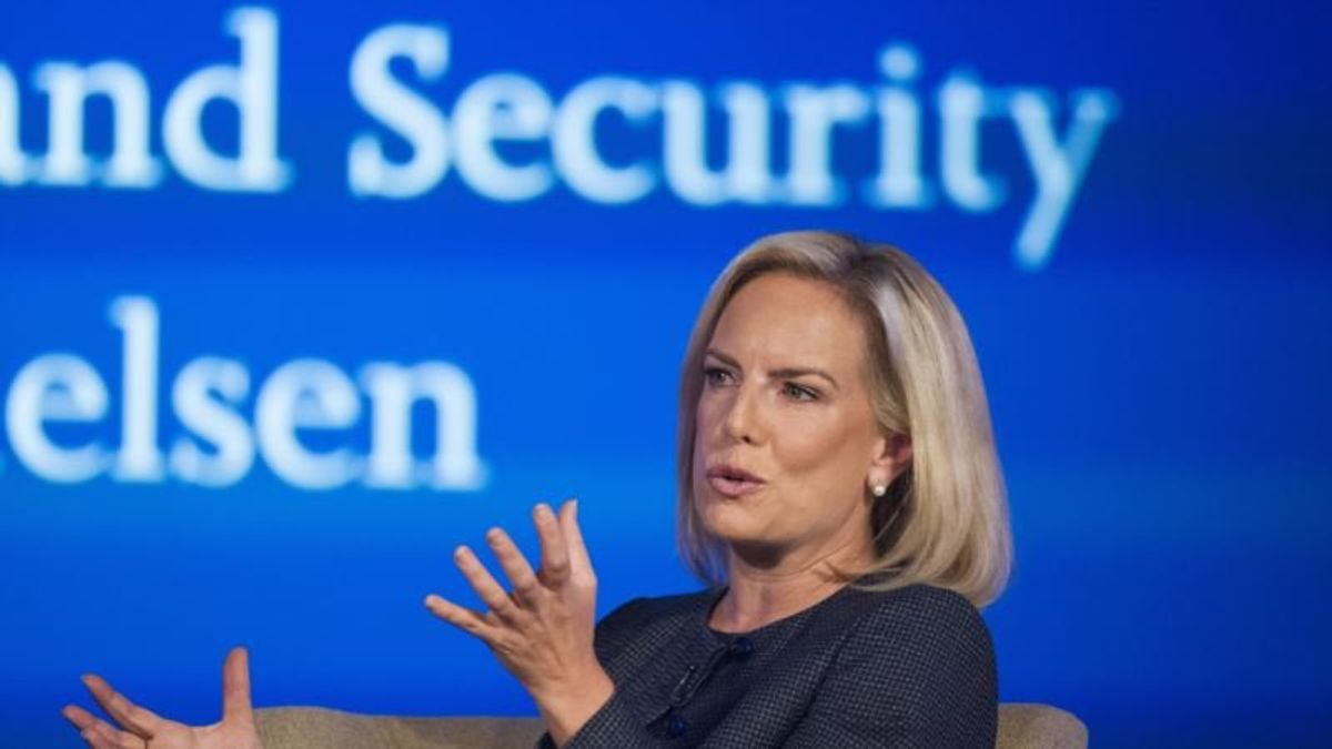 DHS Secretary: Election Security Is a Priority