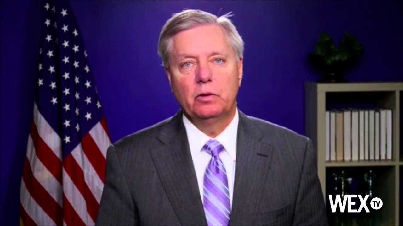 Sen. Lindsey Graham addresses the Southern Republican Leadership Conference
