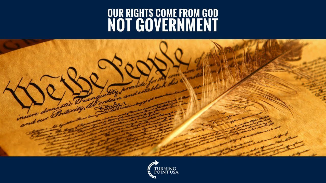 Charlie Kirk: Our Rights Come From God Not Government