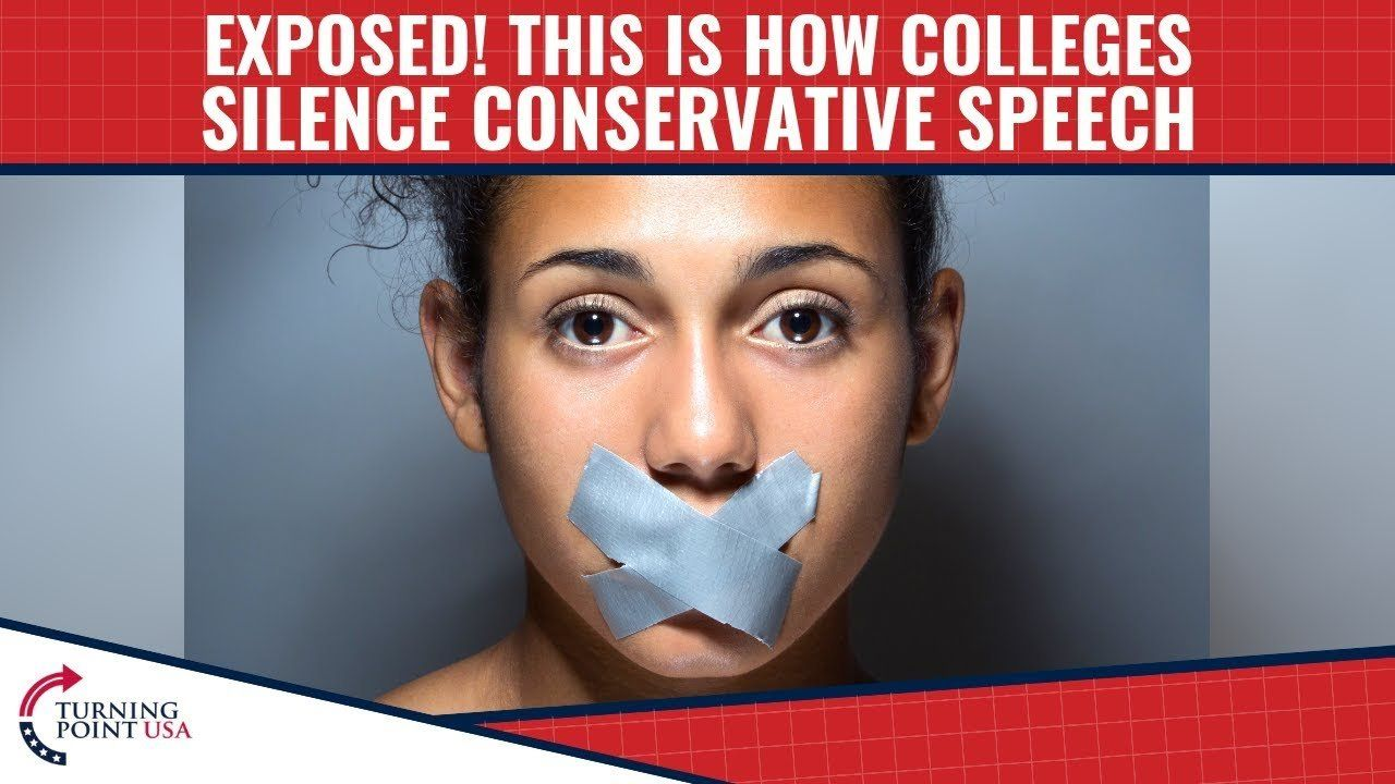 EXPOSED! This Is How Colleges SILENCE Conservative Speech