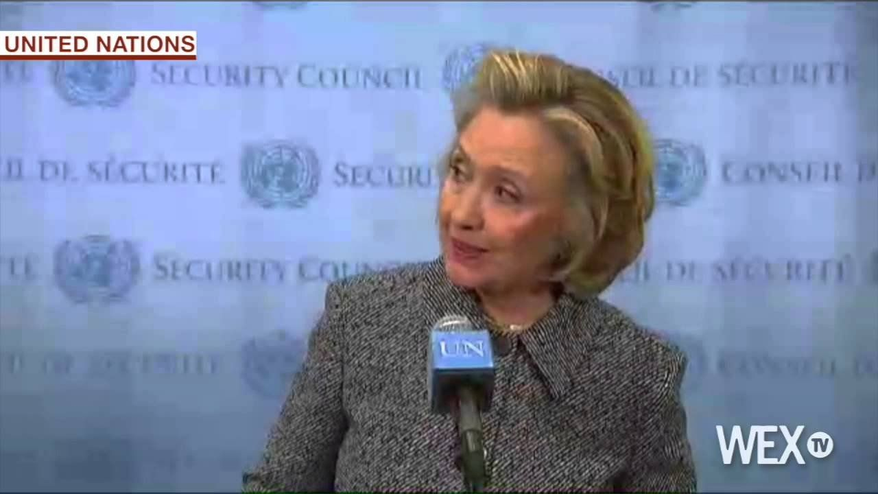 Reporter asks Hillary if her email practices would get scrutiny if she 'were a man today'