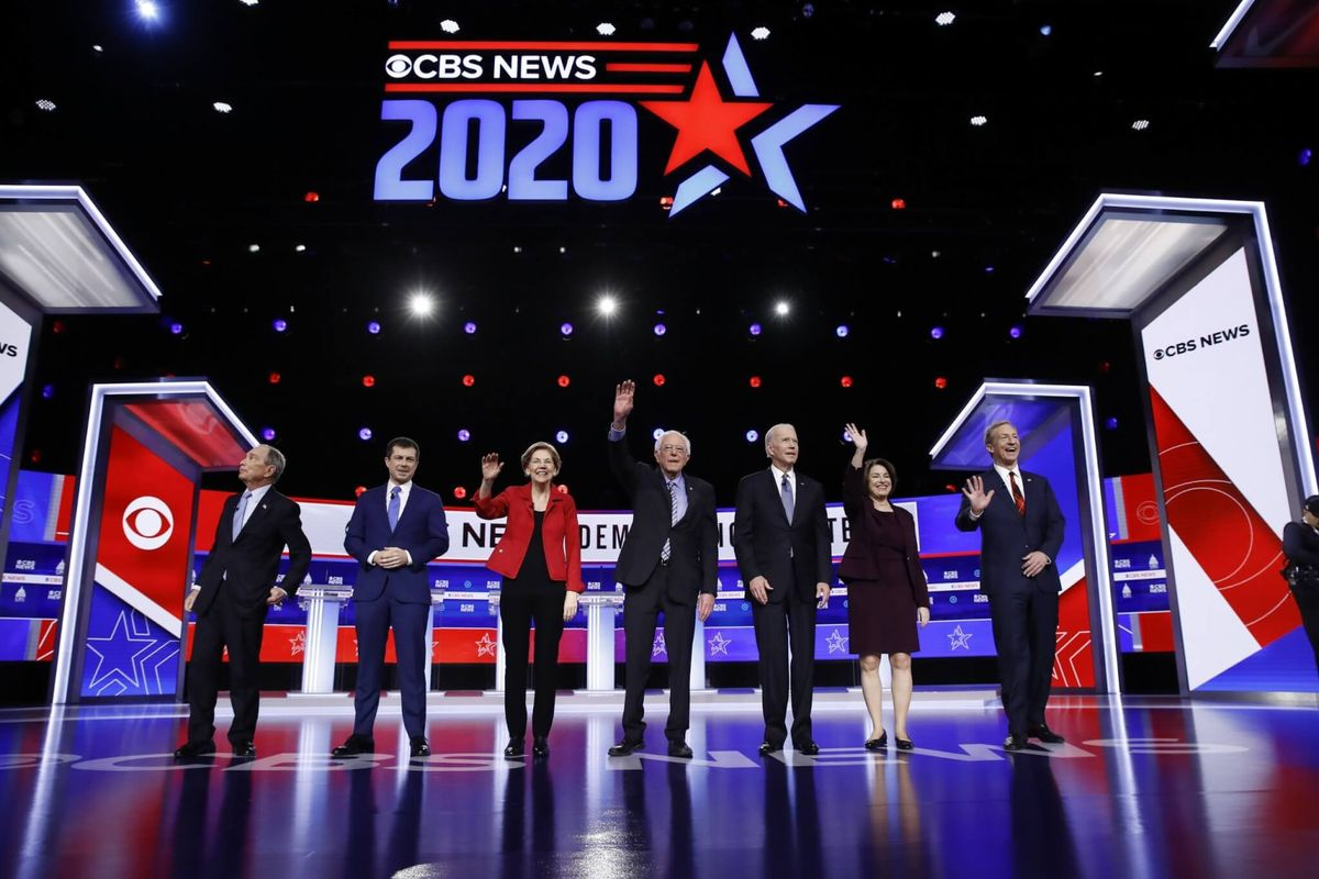 Democratic Presidential Candidates Say Front-Runner Sanders Can't Beat Trump