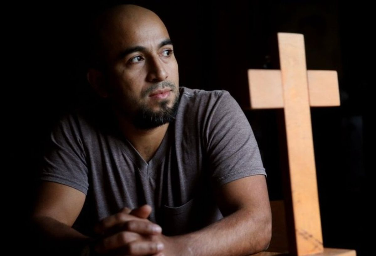 Man Exits Church After Years in Sanctuary From Deportation