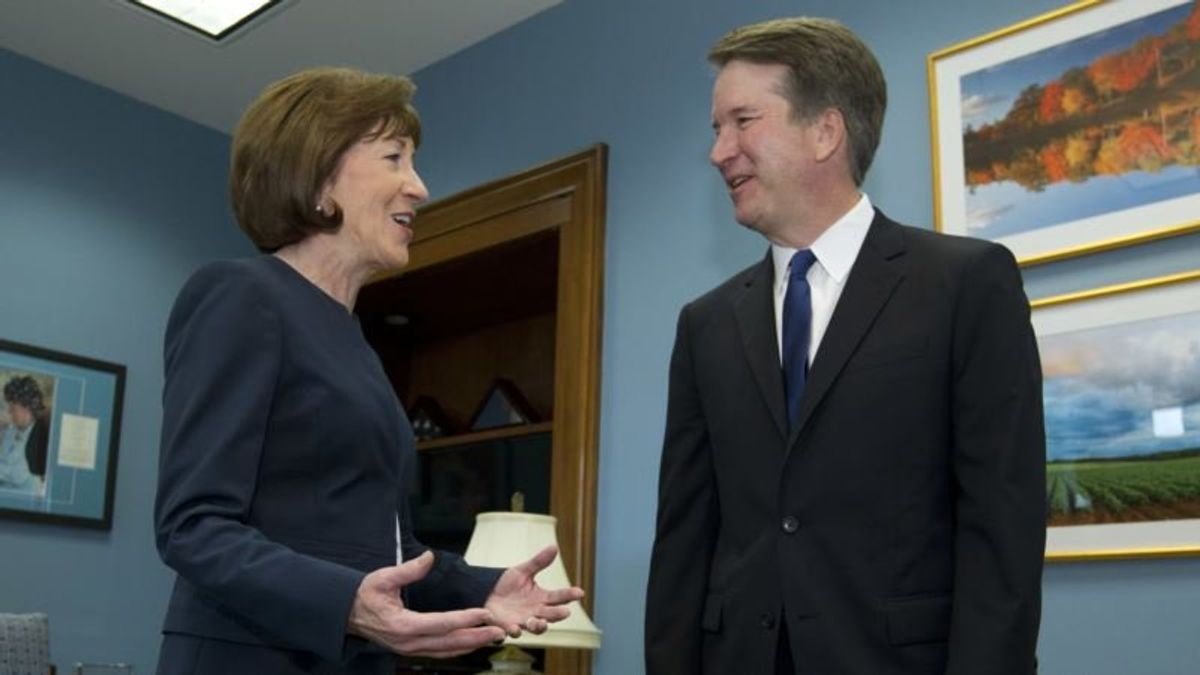 Senator Collins: Trump's Court Pick Says Roe v Wade Is Settled Law