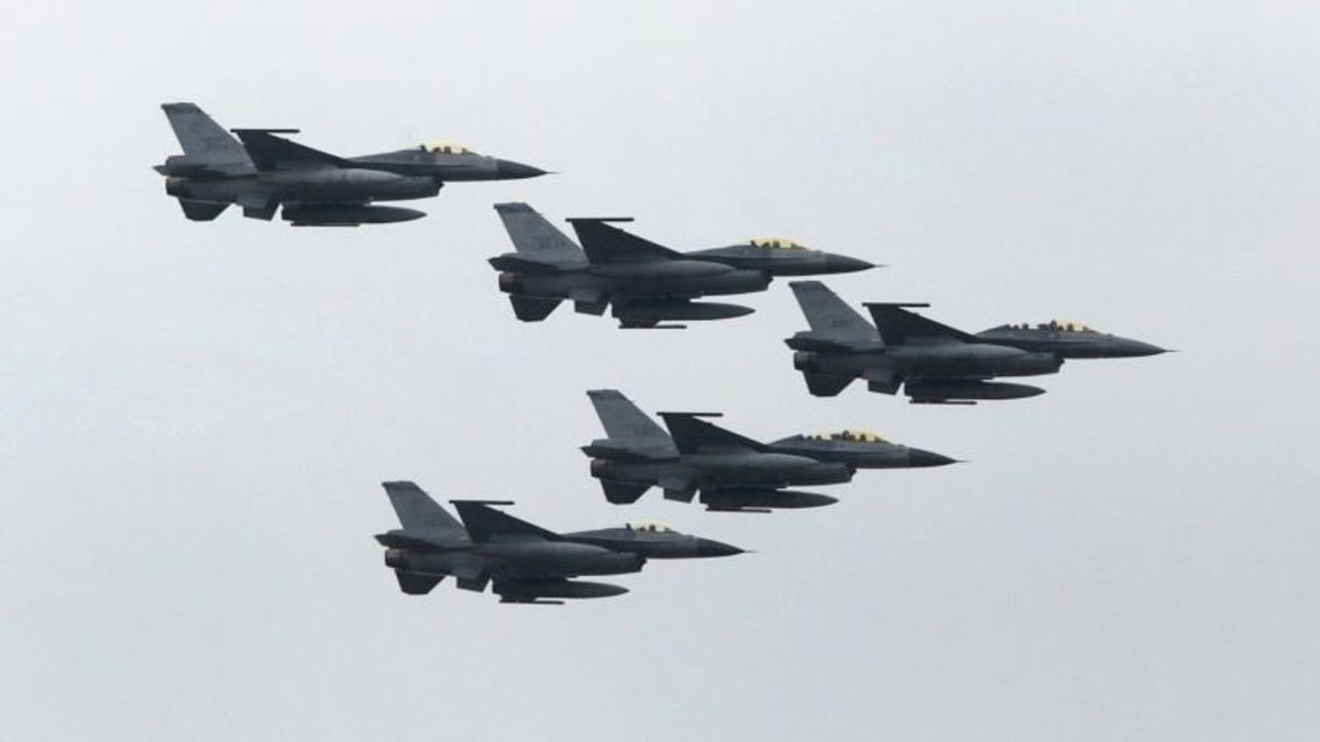 F-35s Unlikely, Taiwan Upgrades F-16s Fighters to Counter China