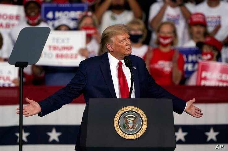 Live: Trump speaks at 'Make America Great Again' rally in Florida