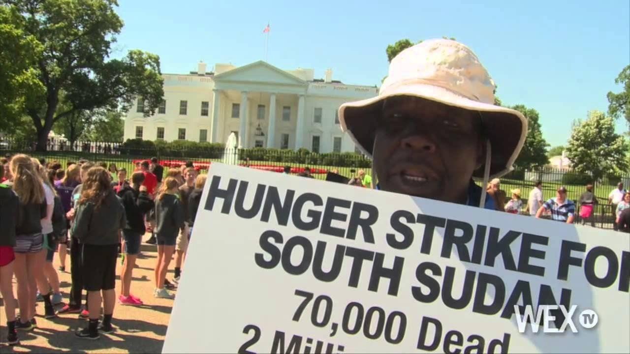 Simon Deng: White House hunger striker