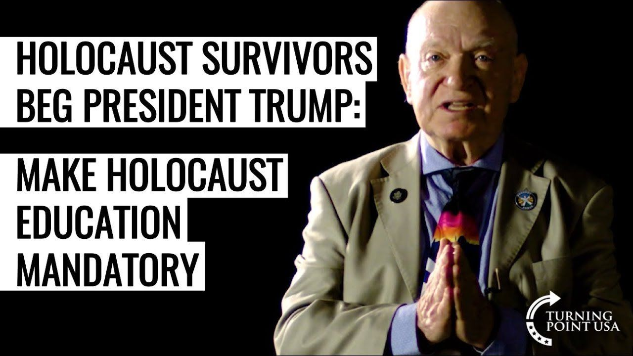 Holocaust Survivors Beg President Trump To Make Holocaust Education Mandatory